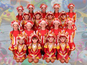 Auftritt: Kinder- & Jugendtanzgarde @ 12. Karnevalistische Vortanzen im Kolpinghaus Beckum